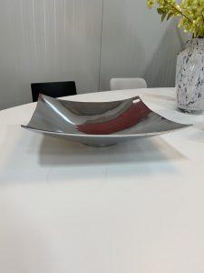 Schaal aluminium vierkant